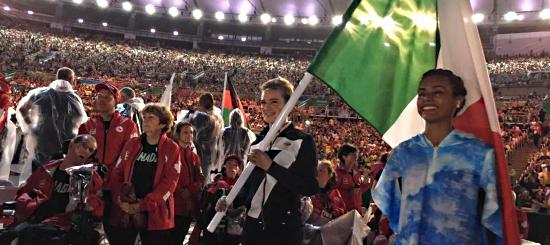 paralimpiadi - Bebe Vio chiude i giochi con 2 medaglie e la bandiera tricolore