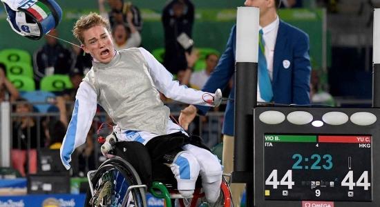 paralimpiadi - finale bronzo a squadre